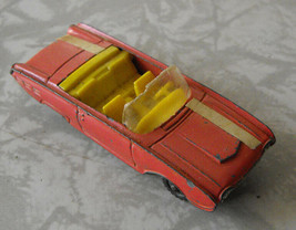Ford Thunderbird Convertible Husky Diecast Toy Car Vehicle Vintage - $16.99