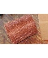 20 Feet Copper Mesh for Brewing Cleaning Pest Control 100% Copper Still Packing - $18.99