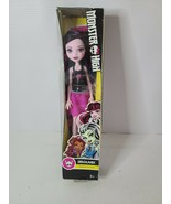 Monster High Draculaura Daughter Of Dracula Doll Skullette 2015 New Rare - $30.99