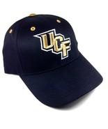 UCF KNIGHTS UNIVERSITY OF CENTRAL FLORIDA  BLACK ADJUSTABLE HAT CAP LOGO... - $18.95