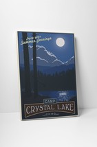 """Camp Crystal Lake by Steve Thomas Gallery Wrapped Canvas 16""""x20"""" - $44.50"""