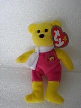 McDonalds 2004 Ty Birdie The Bear No 3 10th Anniversary Canada Yellow So... - $3.99