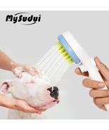 Bath Shower Pet Dog Cat Dog Tool Brush Cleaning Wash Bath Sprayer Massag... - $25.07+