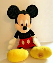 "17"" Vintage Mickey Mouse Disney Theme Parks Soft Plush Stuffed Animal Toy - $9.99"