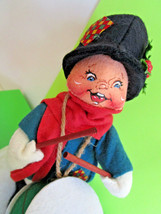 "Annalee 8"" Drummer Boy Christmas Doll Figurine Soft Sculpture Vintage 1998 - $9.99"