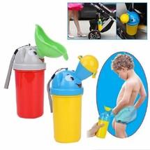 Portable Convenient Travel Cute Baby Urinal Kids Boy Car Toilet Potty Tr... - $8.79