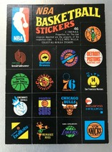 1971 Topps Trios Stickers #46 NBA Team Logo Stickers - $9.85