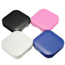 4 Colors Portable Cute Travel Contact Lens Case Eye Care Kit Holder Mirr... - $3.89+