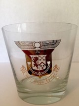 Very rare Delta Kappa Epsilon fraternity glass bar barware ice bucket - $54.82