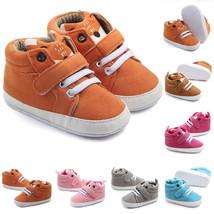 Infant Baby Boy Girl Soft Sole Crib Newborn Non-slip Shoes Sneaker 0-18 ... - $8.00