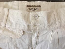 NWT GUESS Jeans Pants White Slacks Pants sz 32 - $27.00