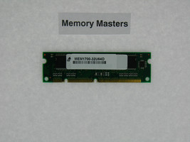 MEM1700-32U64D 32MB Approved Dram Memory for Cisco Network Router 1701 - $28.71