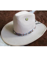 American Made! Rainbow Hatband With Porcupine Quills & Glass Beads for W... - $84.00