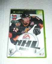 VINTAGE XBOX NHL 2003 HOCKEY EA SPORTS VIDEO GAME STILL NEW & FACTORY SE... - $18.37