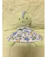HTF Baby Gear Dinosaur Dinosaurs Mini Security Blanket Plush Lovey L@@K - $13.49