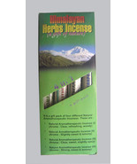 Gift pack Himalayan Herbal Tibetan Incense Stick from the Land of Buddha - $6.50