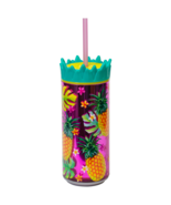 """Cool Gear 16 oz Easy Fill Pineapple Can Double Wall Insulated """"Pineapples"""" - $7.95"""