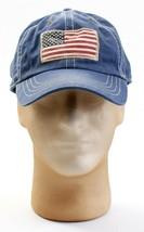 Polo Ralph Lauren Blue Vintage American Flag Adjustable Cap Men's One Si... - $64.34