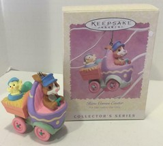 HALLMARK 1996 Bunny in Egg Truck HERE COMES EASTER #3 ORNAMENT Easter Tr... - $6.92