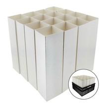 "Lot of 16 Zipset Pots Seedling Containers Deep Pots Treepots 3"" x 10""  #... - £56.50 GBP"
