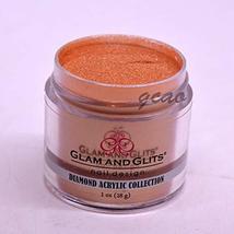 Glam Glits Acrylic Powder 1 oz Hazel DAC74 - $13.81