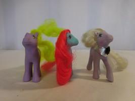 My Little Pony Vintage G1 Flutter Tropical Breeze + Flutter Yum Yum + Forget-Me- - $20.80