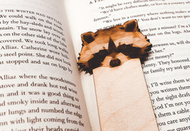Engraved Raccoon Bookmark - $10.00