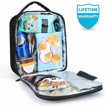 Lunch Bag with Solid Padded Liner,Amersun Spacious Insulated School Lunc... - $31.10+
