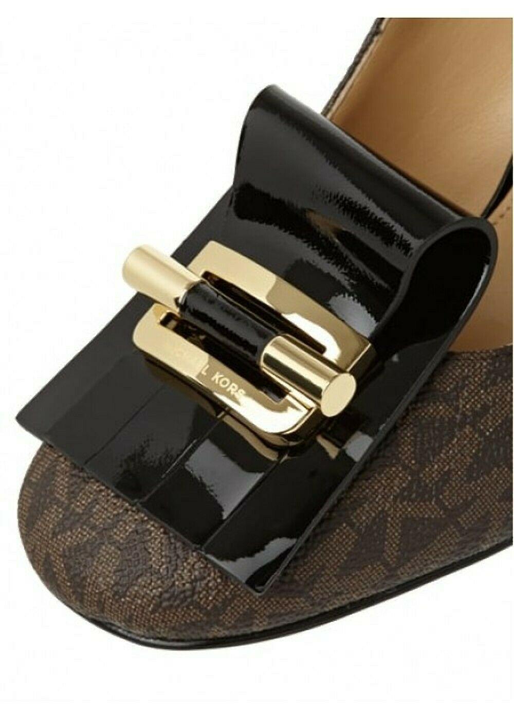 MICHAEL Michael Kors Gloria Kiltie Pump Shoes Size 6