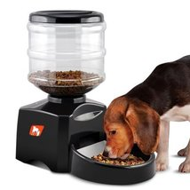 Automatic Pet Feeder-5L Tank,Supports Dry Food,Voice Recording,3 Meals P... - $98.00