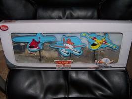 Disney Store Planes Fire & Rescue Wall Hooks 3 Piece Set NEW HTF - $25.73