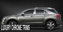 Chevy Equinox Stainless Steel Chrome Pillar Posts by Luxury Trims 2010-2... - $69.80