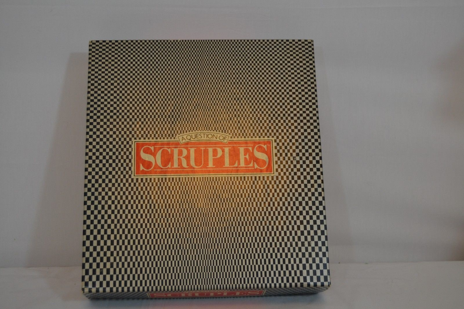 Primary image for A Question of Scruples Game 1986 Milton Bradley Co. (Complete)