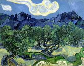The Olive Trees Painting by Vincent van Gogh Art Reproduction - $32.99+