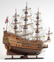 Sovereign Of The Seas Wooden Model Ship  Exclusive Edition Fully Assembl... - $546.76