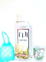 Bath and Body Works Fiji White Sands Foaming Soap PocketBac & Turquoise Holder - $17.35