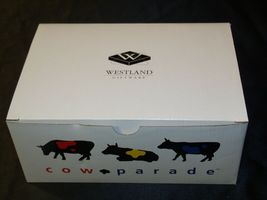 """Cows on Parade """"Broadway"""" Westland Giftware # 9159 AA-191862 Vintage Collectibl image 5"""