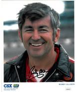 Bobby Allison signed NASCAR CSX 8x10 Photo- JSA Hologram #DD39314 - $37.95