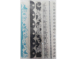 Various Borders Clear Stamp Set