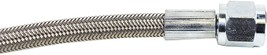 """A-Team Performance Steel Braided Turbo Oil Feed Line 60"""" Length -4AN 90 degree s image 7"""