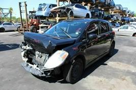 Rear Seat Belt Driver Left Rear 2009 Nissan Versa Hatchback Black - $63.36