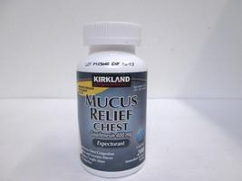 Kirkland Signature Mucus Relief Chew 400mg Expectorant - 200 tablets [VS-K] - $212,70 MXN