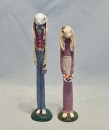 TNT Pencil Figurines Rabbit Couple - $17.82