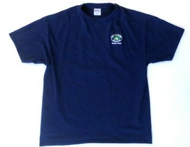 1998 Big Stitch Golf Tournament Men's T-Shirt XXL Blue Hanes Beefy-T - $9.28