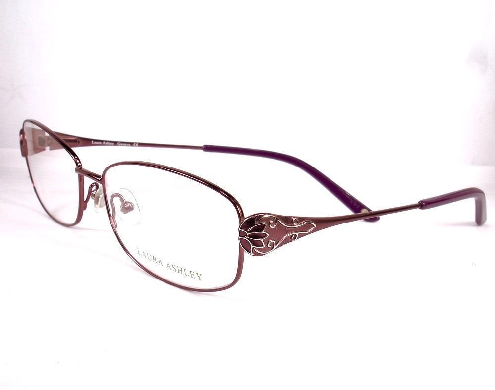 89aca0815dd Laura Ashley Eyeglasses Geneva Plum Women and 43 similar items. S l1600