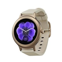 LG Watch Style Bluetooth & Wi-Fi IP67 Water Resistant Rose Gold Color - $239.00