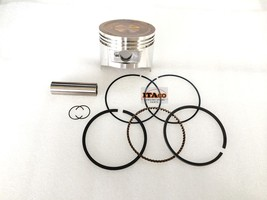 PISTON KIT RING SET PIN CLIP fit Honda GX270 UT HH928 8HP Engine 73MM Si... - $25.63