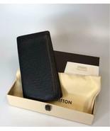LOUIS VUITTON purse Taiga line PORTEFEUILLE men's knick Long Wallet Japa... - $588.70