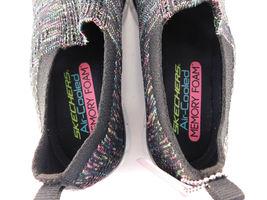 Skechers Air Cooled Memory Foam Empire Inside Look Black Walking Shoes - 7.5 image 5