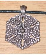 Virtue Symbol Celtic Harmonies Pendant Necklace, NEW UNUSED - $7.84